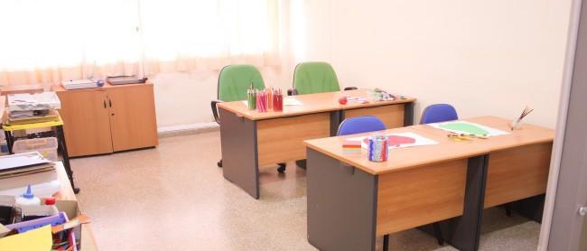 Aula de talleres ocupacionales